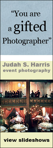 vertical banner for event photography slideshows