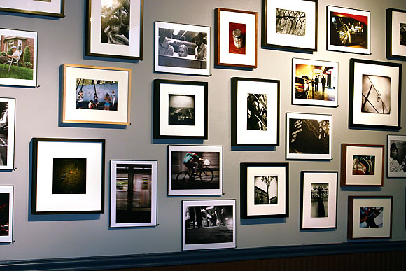 city stories gallery wall